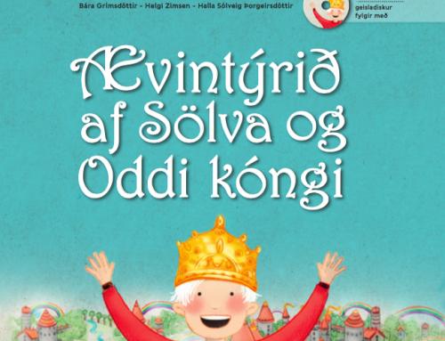Ævintýrið af Sölva og Oddi kóngi fékk 4 og hálfa stjörnur